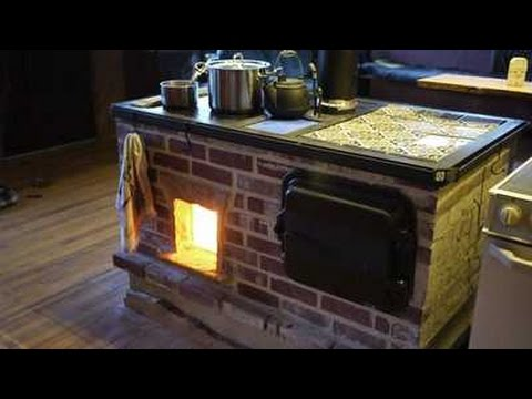 Walker Wood Fired Masonry Cookstove And Oven Door Build