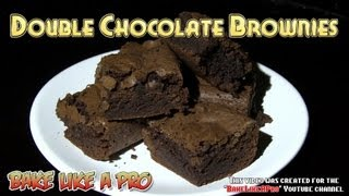 Best Homemade Double Chocolate Brownies Recipe !