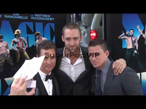 Matthew McConaughey, Reid Carolin, and Channing Tatum at ...