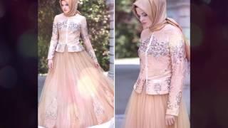 Evening Hijab Dresses - Turkish Hijab Dress Style