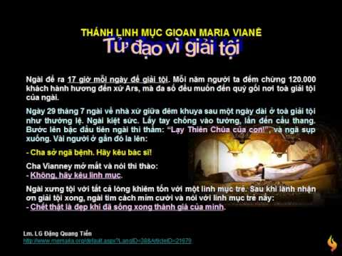 Thanh Linh Muc Gioan Vianey - Phan chieu lua tinh yeu cua Thanh tam Chua Giesu, 21/6/2009