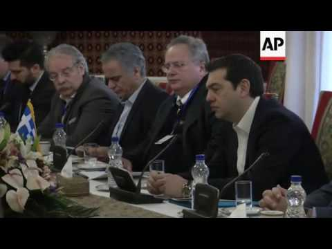 Tsipras says Greece should play role in Syria