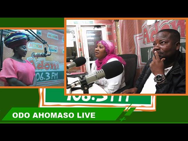 Odo Ahomaso on Adom FM (8-8-18)