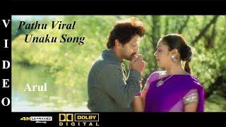 Pathu viral unakku - arul tamil movie video song 4k ultra hd blu-ray & dolby digital sorround 5.1