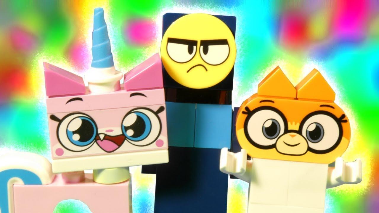 LEGO UniKitty and Dr Fox