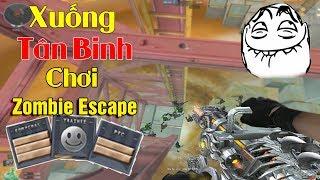 Vác 6 Nòng VIP Xuống Tân Binh Chơi Zombie Escape Và Cái Kết.