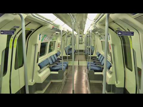Full Journey on the Refurbished Jubilee Line London Underground Stanmore to Stratford Night Pt.1