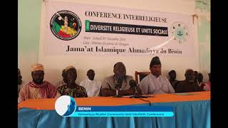 Interfaith conference Benin
