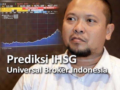 Prediksi IHSG Universal Broker Indonesia