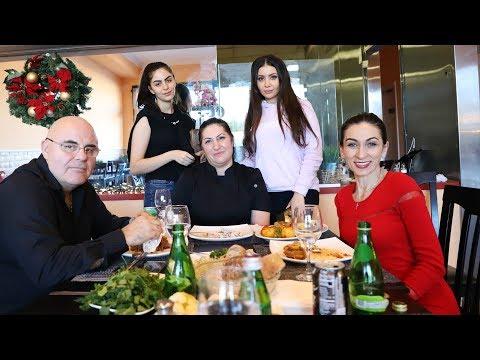 Cafe Areni - Պոչ - Աղցան Արենի - Հեղինե - Heghineh Cooking Show in Armenian