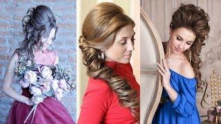 Вечерние причёски набок - 9 уроков - Hairstyles by REM