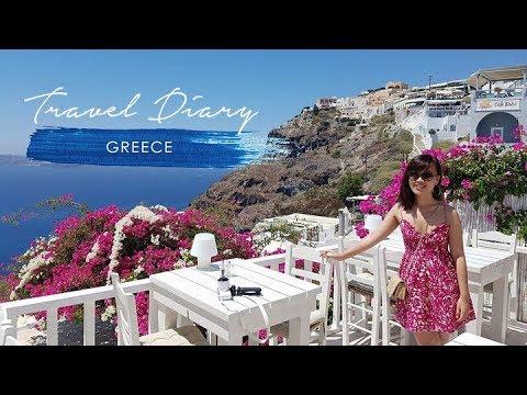 ĐI SANTORINI, HY LẠP CÙNG MÌNH - Greece Travel Vlog | Taste From Home