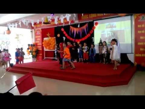 Tiết mục Halloween khối 2 - Trường Tiểu học Thăng Long Kidsmart