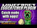 How to catch mobs in Minecraft with EggCatcher Plugin
