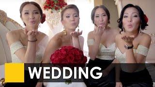 Лучшая свадьба Кыргызстана 2015 от студии Сентябрь! Бишкек. Организатор - Event de Luxe