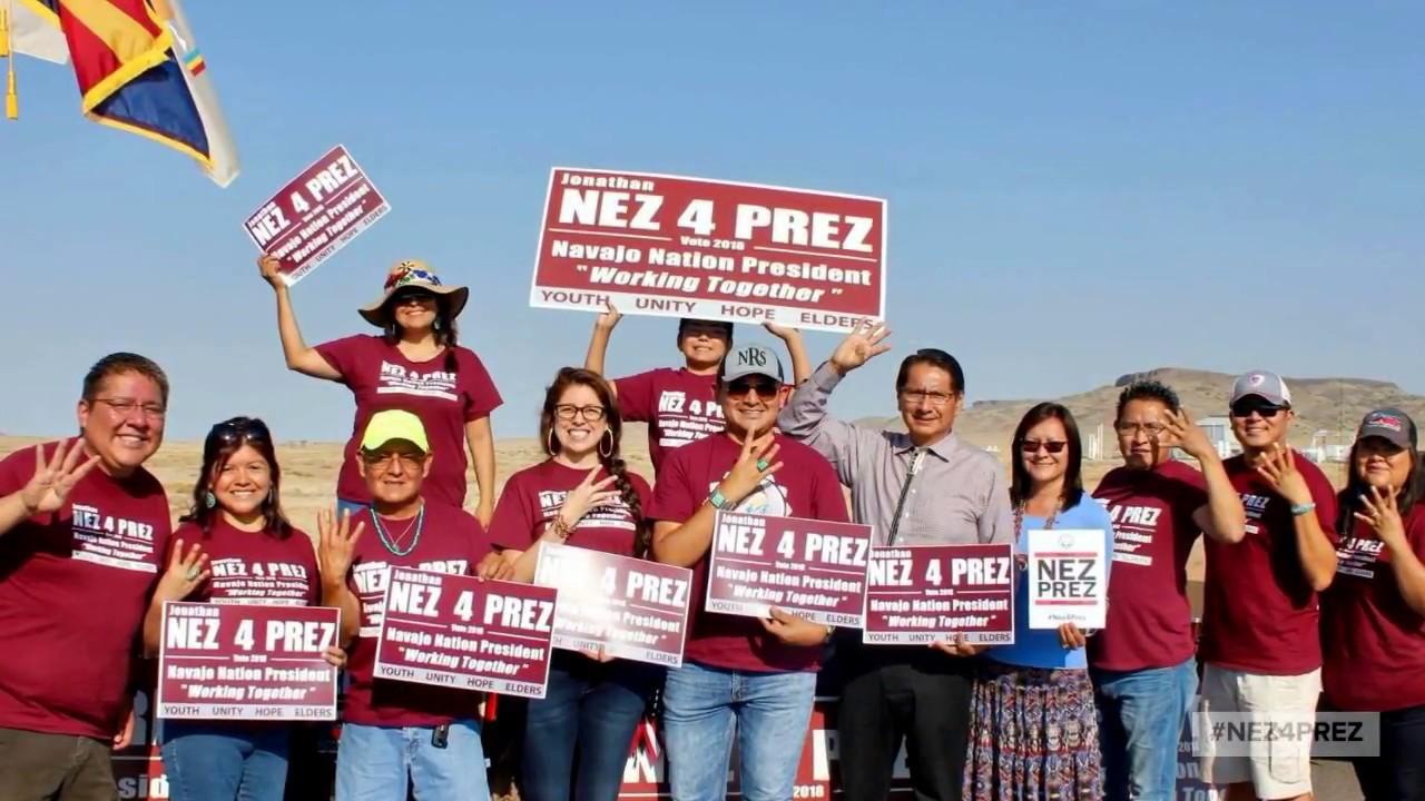 39517e8caff Vote for Jonathan Nez for Navajo Nation President - YouTube