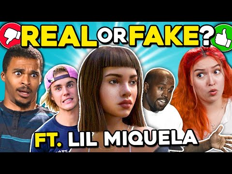 Can YOU Tell What's Real Or Fake? ft Lil Miquela