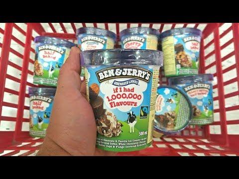 Ben & Jerry's Fastest Ice Cream Pint Challenge!
