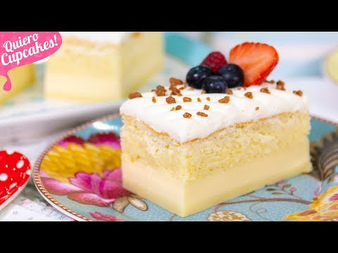 PASTEL INTELIGENTE O TARTA MÁGICA | UN POSTRE SORPRENDENTE | Quiero Cupcakes!