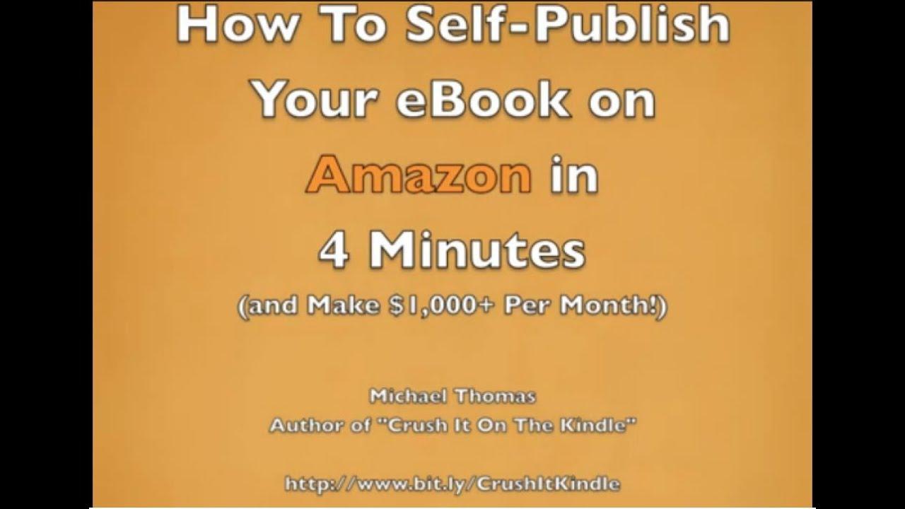How Can the Average Writer Make Money Self-Publishing E-Books?