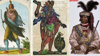 Pt. 1 - Never Before Seen Historical Depictions & Images of American Indians !!