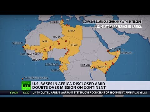 Formerly-secret Data Discloses US Military Bases In Africa