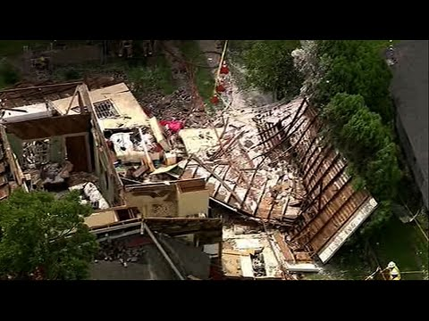 House Explodes in Downtown Houston
