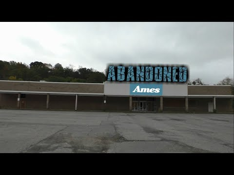 Abandoned Ames Department Store - Shamokin Pa