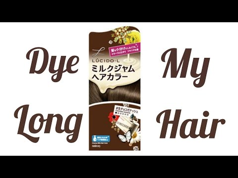 How to Dye My Long Hairロングヘアを自染め