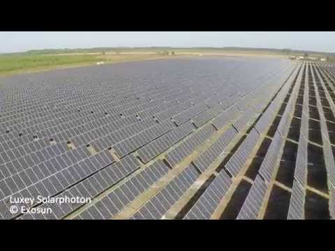Luxey solar plant (France) equipped with Exosun solar trackers