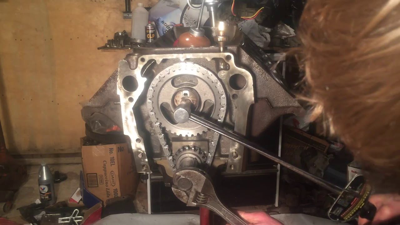 How to install new timing chain and gears