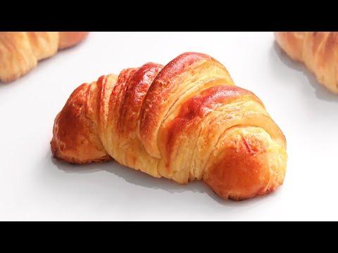 Croissants o Cruasanes caseros | Cuernitos | Medialunas