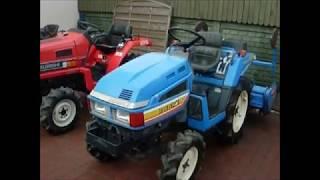 Sprzedaż używanych japońskich traktorków - ciagników ogrodniczych.  www.akant-ogrody.pl