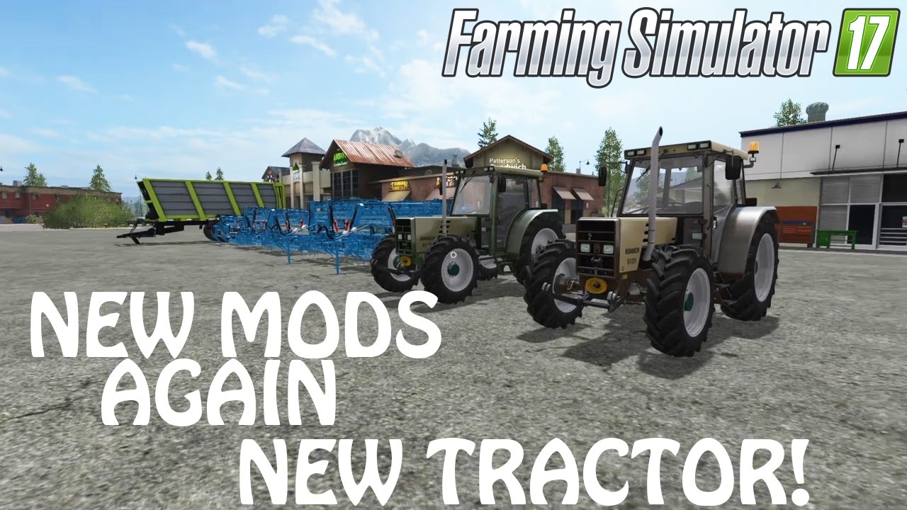 NEW MODS AGAIN in Farming Simulator 2017   NEW TRACTOR FINALLY   PS4   Xbox  One
