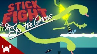 SNAKE FIGHT: THE GAME! | Stick Fight: The Game w/ Ze, Chilled, GaLm, & Aphex