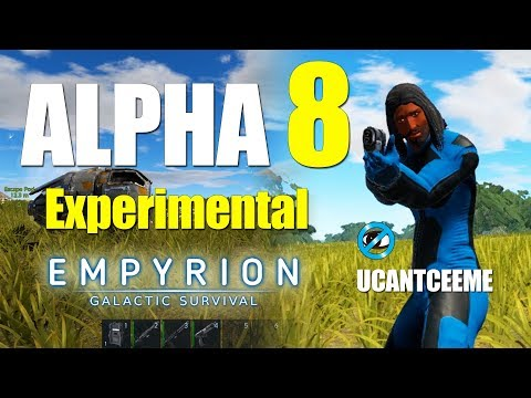 Empyrion Galactic Survival | ALPHA 8 Experimental | A WHOLE NEW WORLD | Ep. 1