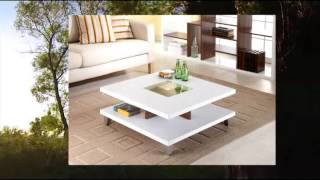 Enitial Lab Lendon Square Coffee Table White