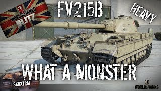 FV215b Heavy - What a Monster! Wot Blitz