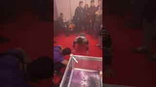 Ukrainian vapor week / Vape & Trade Expo Kiev 18.03.2017 push-up challenge