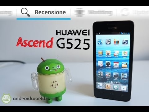 Huawei Ascend G525, recensione in italiano by AndroidWorld.it