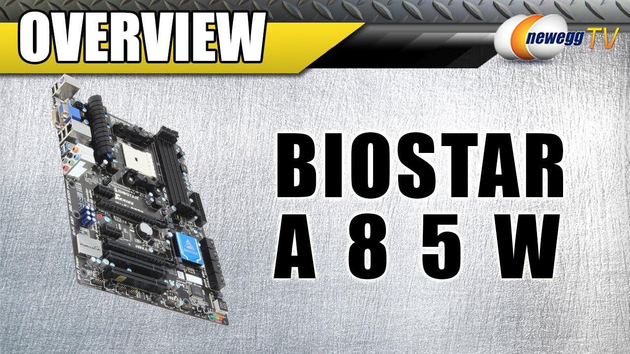 BIOSTAR HI-FI A85X GREEN POWER DRIVER FREE