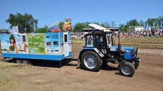 Участник тракторных гонок Бизон-Трек-Шоу 2015 Александр Маляр