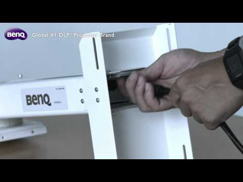 BenQ Installation Projector - How to Set Up Projector Wall Mount