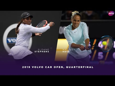 Sloane Stephens vs. Madison Keys | 2019 Charleston Open Quarterfinal | WTA Highlights