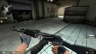 CSGO Skin Showcase: AK-47 | Elite Build Minimal Wear