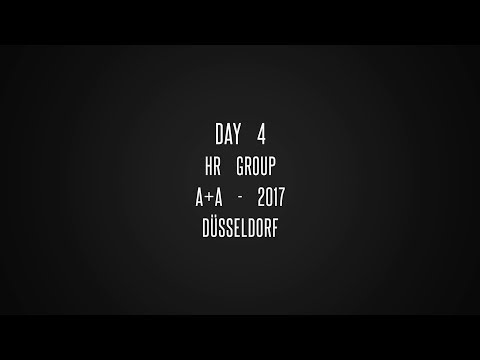 Day 4   HR Group   A+A - 2017   @Düsseldorf