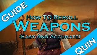 diablo 3 how to reroll a weapon