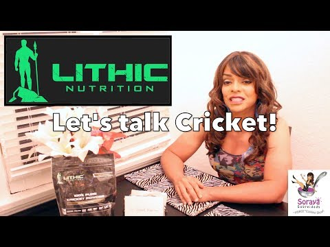 Lithic Nutrition Cricket Protein Powder for Healthy Latin Cooking