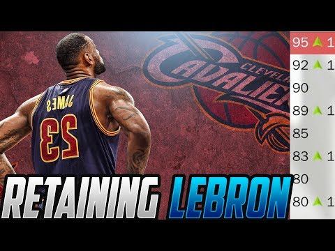 THE GAME CHEESED ME! REBUILDING THE CAVALIERS! NBA 2K18 MyLeague