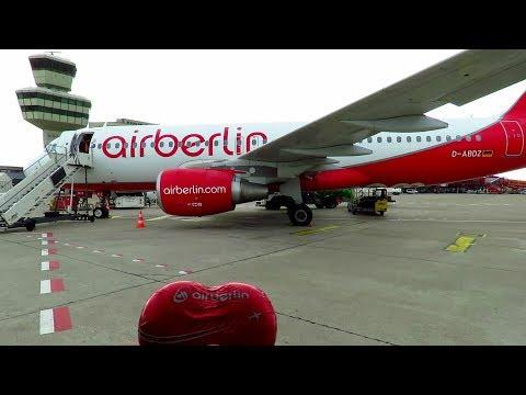LAST Air Berlin TRIP REPORT!! FINAL DAY of OPERATIONS   Dusseldorf to Berlin TXL   Air Berlin A320